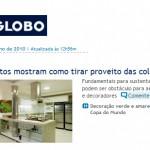 Site O Globo - Chamada de Capa - Junho 10
